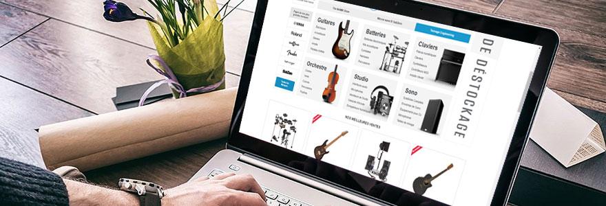 Achat d instruments de musique en ligne les avantages